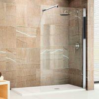 Душевые перегородки в ванную – каковы преимущества?